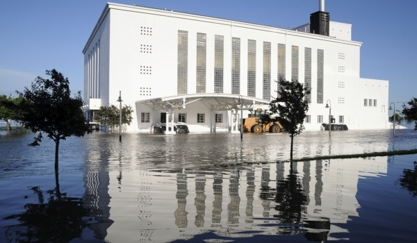 Flooded Building