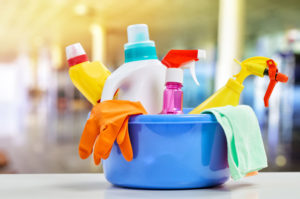 Are there harmful VOCs in your household cleaning supplies?